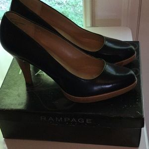 Rampage Shoes - Rampage size 9 women's 2 inch heel shoes black